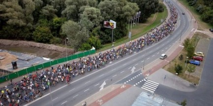 """UWAGA: Rusza przejazd """"Masy Krytycznej"""". Spodziewane ogromne utrudnienia"""
