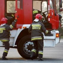 Pożar na Pradze Południe. Mieszkańcy ewakuowani