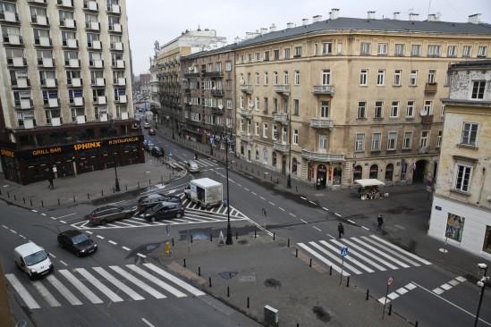 Plac Pięciu Rogów w Warszawie. Fot. PAP/Rafał Guz