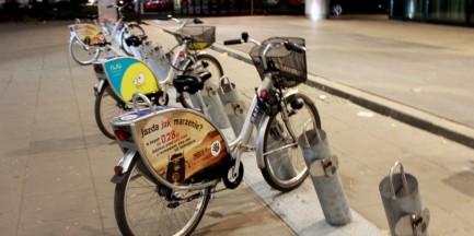 Kolejna kradzież roweru Veturilo!