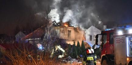 Wybuch fajerwerków w Łomiankach. Sprawę przejęła prokuratura