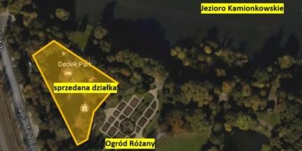 Działka w Parku Skaryszewskim na sprzedaż. Radni apelują do Hanny Gronkiewicz-Waltz