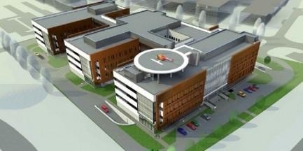 Nowy szpital na Ursynowie za 180 mln. Budowa ruszy w przyszłym roku (WIZUALIZACJA)