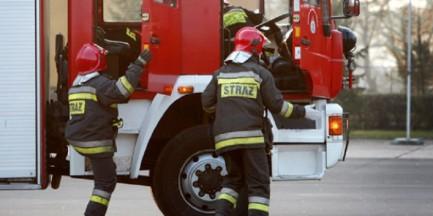Wyciek gazu na Mokotowie. Ruch wstrzymany
