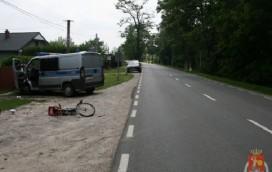 Pijany kierowca potrącił rowerzystę!