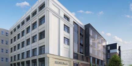 Rewitalizacja kompleksu budynków przy Dzielnej 60
