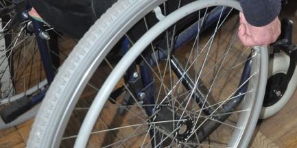 Ukradli wózek niepełnosprawnemu bezdomnemu