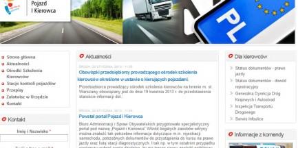 Nowy portal UM Warszawa dla stołecznych kierowców