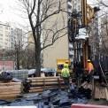 Prace przy ulicy Płockiej Fot. WawaLove.pl