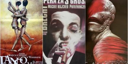 Za darmo: Wystawa plakatów teatralnych