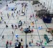 Orkiestra Klezmerska Teatru Sejneńskiego na Placu Defilad