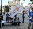 Warszawa pełna pielgrzymów przed zbliżającymi się ŚDM