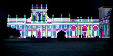 3D na fasadzie Pałacu w Wilanowie! (wideo)