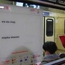 """Piąta edycja """"Wierszy w metrze"""""""