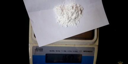 Miał przy sobie kilogram amfetaminy!