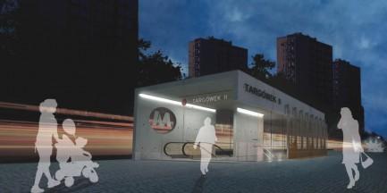Ogłoszono przetarg na budowę kolejnych stacji metra