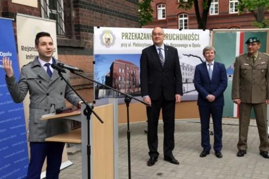 Wiceminister sprawiedliwości Patryk Jaki w Opolu (PAP, Fot: Krzysztof Świderski)
