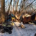 Namioty przy ul. Modlińskiej, fot. Wawalove.pl