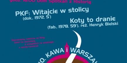 Za darmo: Kino, kawa i Warszawa