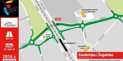 Budowa tunelu w Międzylesiu. Spore utrudnienia w ruchu drogowym